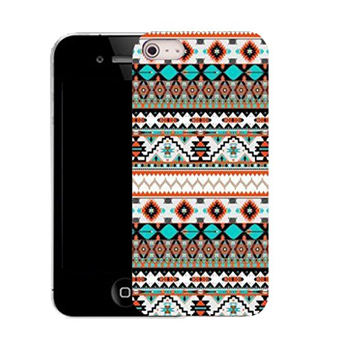 Mobile Case Mate IPhone 5 clip on Silicone Coque couverture case cover Pare-chocs + STYLET - primordial pattern (SILICON)