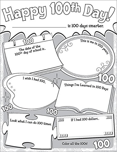 Teacher Created Resources Happy 100th Day Poster Pack (5640)