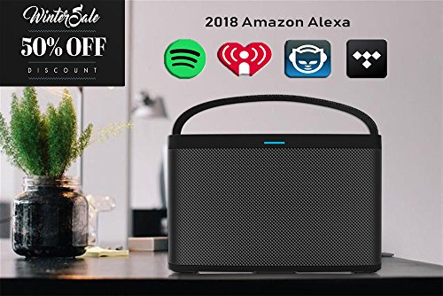 Mid-Sized Wireless Smart Speaker for Streaming Music. Works with Alexa.