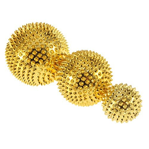 Fashionwu Magnetic Acupuncture Ball Needle Massager Palms Pressing Acupoints Health Care (Acupuncture Health Balls)