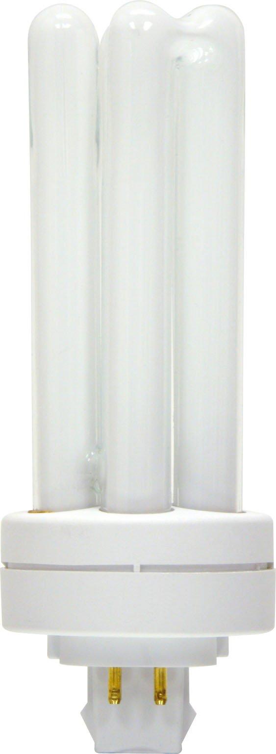 GE Lighting Energy Smart CFL 97635 42-Watt, 3200-Lumen Triple Biax Light Bulb with Gx24-Q4 Base, 10-Pack