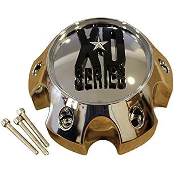 XD SERIES KMC 796 797 798 Matte Flat Black 6 Lug Wheel Center Cap 1079L140 Ford
