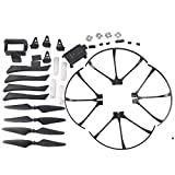YouCute Spare Part Kit For mjx B3 Bugs 3 RC quadcopter drone Black blade protecting frame(Large)