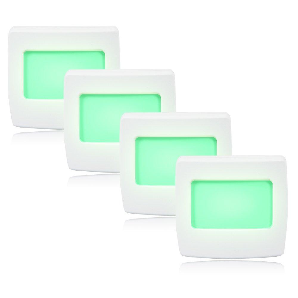 Maxxima Mini Green Always On LED Night Light Pack of 4 - - Amazon.com
