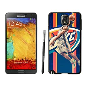 Unique Custom Designed Cover Case For Samsung Galaxy Note 3 N900A N900V N900P N900T With Oklahoma City Thunder Russell Westbrook 1 Black Phone Case