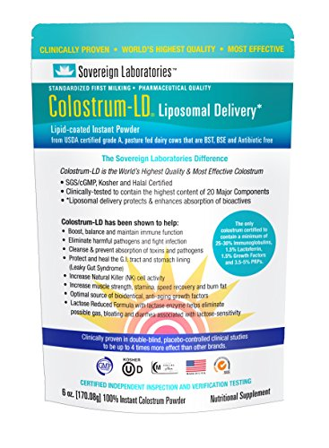 Colostrum-LD Powder with Proprietary Liposomal Delivery  Tec