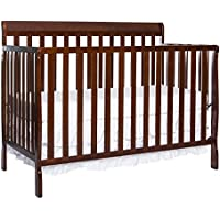 Dream On Me Alissa Convertible 5-in-1 Convertible Crib (New Espresso)