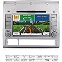 AIMTOM AMN-5985-MB 2005-12 Toyota Tacoma In-dash GPS Navigation Radio Bluetooth DVD CD Stereo 7 Touch Screen AV Receiver FM AM USB SD Multimedia Deck Infotainment Head Unit Copyrighted iGo Primo Maps