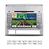 AIMTOM AMN-5985-MB 2005-12 Toyota Tacoma In-dash GPS Navigation Radio Bluetooth DVD CD Stereo 7'' Touch Screen AV Receiver FM AM USB SD Multimedia Deck Infotainment Head Unit Copyrighted iGo Primo Maps