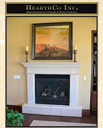 Buy Mesa 1 Piece Precast Fireplace Mantel and Surround in TraverStone: Slipcovers - Amazon.com ? FREE DELIVERY possible on eligible purchases