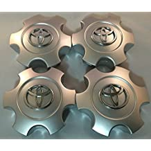 2003-2006 Toyota Tundra 03-07 Sequoia Wheel Center Caps Hubcaps Set 69940 Silver