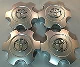 Kyпить 2003-2006 Toyota Tundra 03-07 Sequoia Wheel Center Caps Hubcaps Set 69940 Silver на Amazon.com