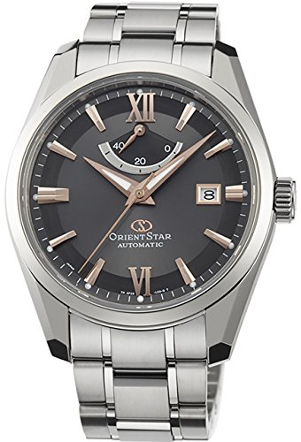 ORIENT Men's Watch ORIENT STAR Urban Standard titanium mechanical automatic (with manual winding) dark gray WZ0011AF