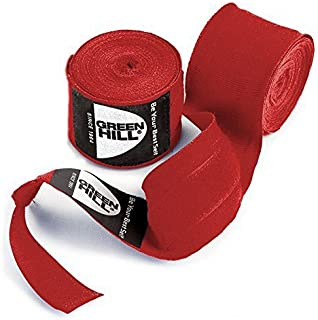 GreenHill Bandes DE Maintien Bandage DE Boxe ÉTIRABLES Kick Boxing Greenhill Sports