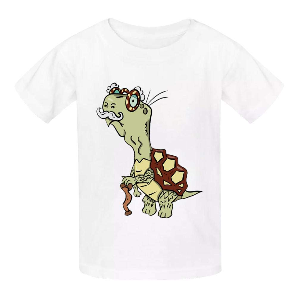 YYIL Tortoise Shell Childrens Comfortable and Lovely T Shirt Suitable for Both Boys and Girls