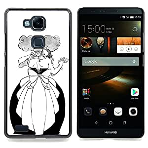 - Dance Man Woman Funny Alcohol Ball - - Snap-On Rugged Hard Cover Case Funny HouseFOR HUAWEI Ascend Mate 7