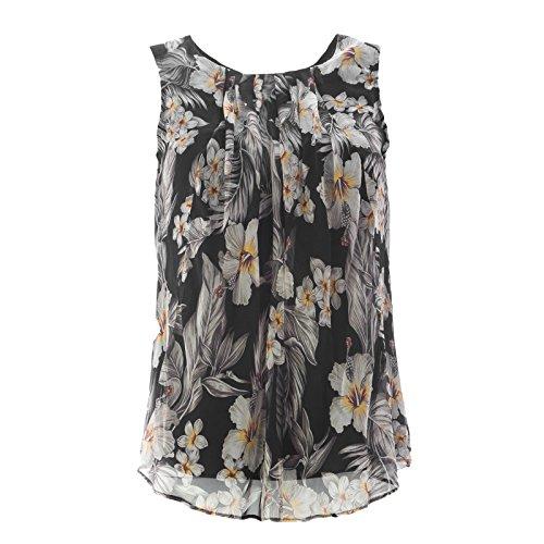 max-mara-studio-womens-peter-sleeveless-floral-print-blouse-sz-2-black