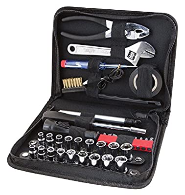 Performance Tool W1197 38 Piece Compact Tool Set with Zipper Case by Wilmar Corporation