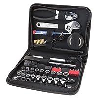 Performance Tool W1197 Juego de herramientas compacto de 38 piezas con estuche de cremallera