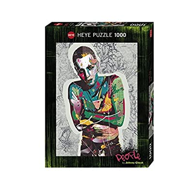 Heye 5131682 Puzzle Standard Johnny Cheuk Persone Ewan 1000 Parti
