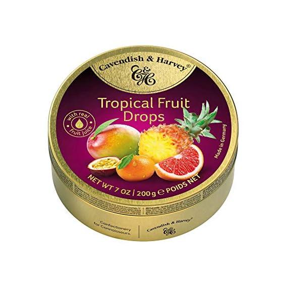 Cavendish & Harvey Tropical Fruit Drops-200G- Germany