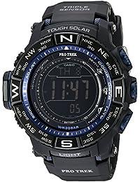 Men's PRW-3500Y-1CR Pro Trek Quartz Solar Atomic Digital Display Black Watch