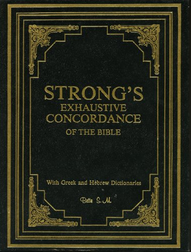 Download Strongs Exhaustive Concordance Of The Bible Greek
