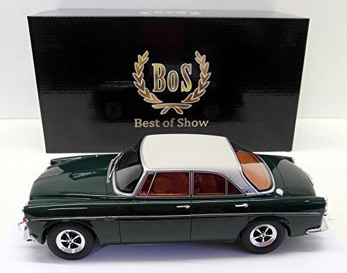 Rover P5B Coupe, dunkelgrün/hellgrau, RHD, 1971, Modellauto, Fertigmodell, BoS-Models 1:18