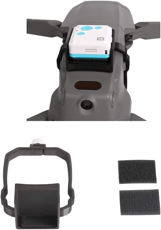 UTEC LIMITED GPS Tracker Mounting Stabilizer Holder for DJI Mavic 2 Pro//Mavic 2 Zoom Drone Anti Fall Locator Mount Support Bracket Carrier Kits