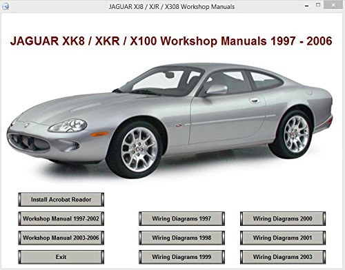jaguar xk8 xkr x100 workshop and parts manuals 1997 2006 rh amazon co uk 2000 jaguar xk8 repair manual pdf 2000 jaguar xj8 service manual