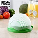 Salad Cutting Bowl 60 Seconds Salad Maker Fresh and Health Salad Fruit Vegetable Slicer for Family