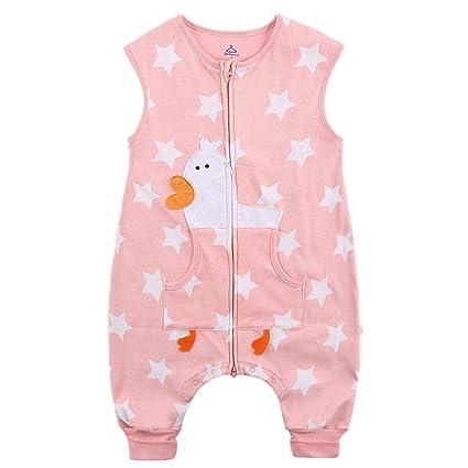 Gleecare Saco de Dormir para bebé,Pijama de otoño e Invierno para niños Antideslizante edredón