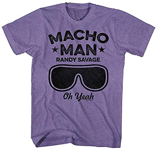 Macho Man Icons Oh Yeah Adult Short Sleeve T Shirt -