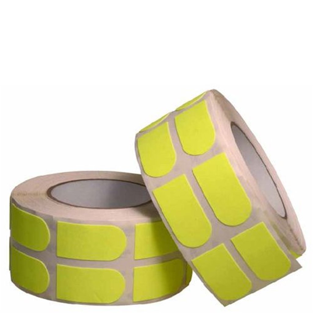 Turbo Bowling Grips Strip Tape 500Piece Neon 1'', Yellow by Turbo