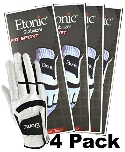 Etonic Golf- MRH Stabilizer F1T Sport Glove (4 Pack) ()