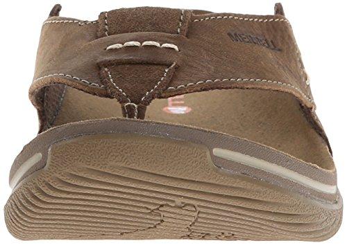 Merrell Mens Bask Sandalo Con Muschio