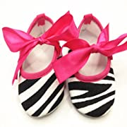 TANZK 1 Pair Cute Zebra Black White Print Newborn Baby Toddler Infant Shoe Sandal 11cm