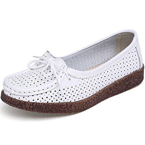 Autumn women's fashion Loafers flat shoes doug shoes - 5