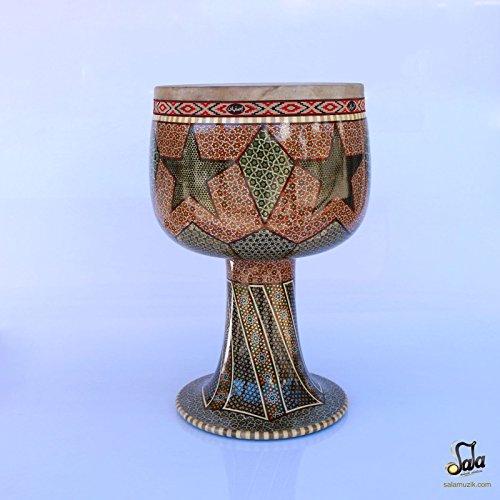 Khatam Tonbak Tombak Zarb Drum SHZ-505-3 by Shirani