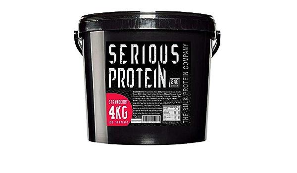 The Bulk Protein Company Serious Polvo De Proteínas - 4 Kg