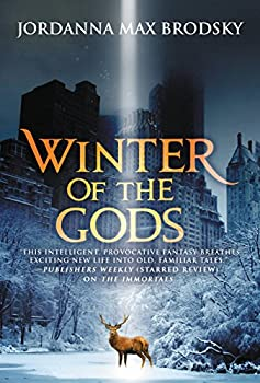 Winter of the Gods by Jordanna Max Brodsky fantasy book reviews