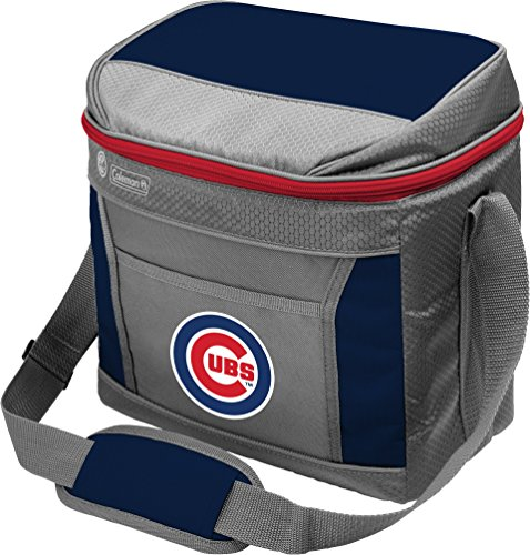 (Coleman MLB Soft-Sided Insulated Cooler Bag, 16-Can Capacity, Chicago Cubs)