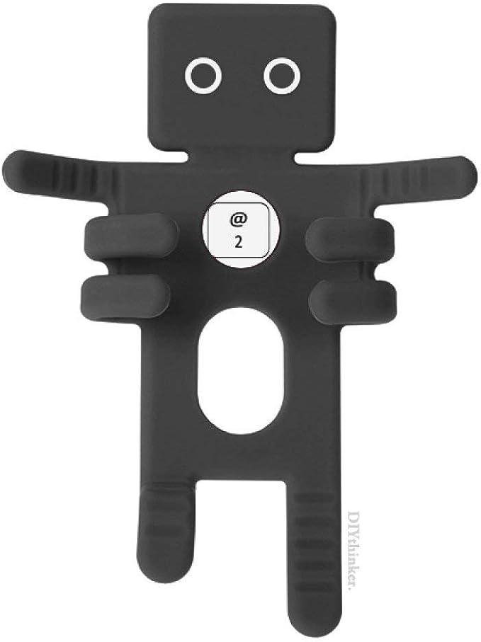Teclado símbolo 2 negro soporte de teléfono móvil coche ...