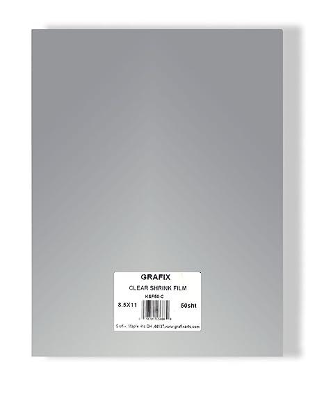 Grafix ksf50-w 8 - 1/2-inch por 11 Pulgadas Shrink Film: Amazon.es ...