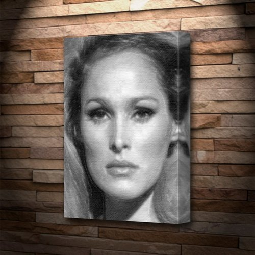 URSULA ANDRESS - Canvas Print (LARGE A3 - Signed by the Artist) #js001
