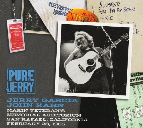 Pure Jerry: Marin Veteran's Auditorium, San Rafael, California - February 28, 1986 by Jerry Garcia Family