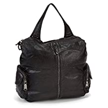 Co Lab Women's Madison Washed Convertible Backpack Black