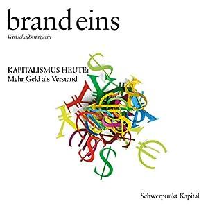 brand eins audio: Kapital Hörbuch