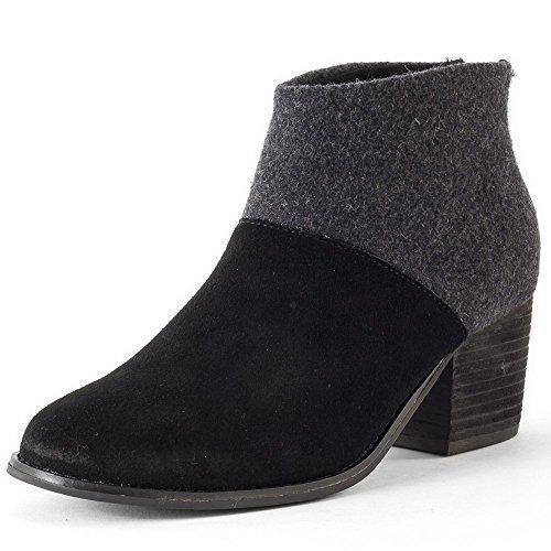 leila black booties 5