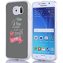 S7 Case Christian Quotes, Samsung Galaxy S7 Bible Verses Philippians 4:13 I Can Do All Things Through Him Who Gives Me Strength CUH1204